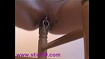 piercings huge chair leg fucking masturbate pussy Pierced