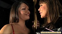 Hot tranny Carmen Moore and milf shared a cock ...