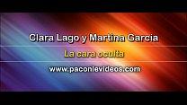 Martina García y Clara Lago desnudas en La cara oculta