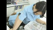 Hot Japanese Cashier Girl Fingered In The Store...