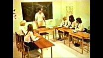 retro vintage, - orgy Schoolgirl