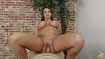 brooklyn chase on a massage table