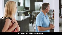 MyBabySittersClub - Caught the Babysitter Touch...