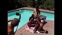 Behind scenes Interracial