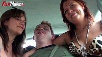 fun movies public amateur threesome in the car