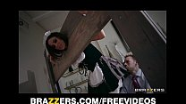 Submissive house maid Gia Dimarco is gang bange...