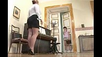 teacher plays with her student