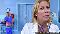 fawx may, alexis marsha stimulate and tease - Brazzers