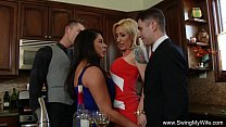 swingers group sex orgy couples
