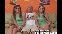 dualing porn star squirting twin sisters