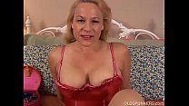beautiful mature blonde is a squirter