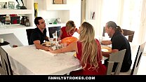 dinner thanksgiving during brother fucks and sucks sister step - Familystrokes