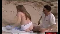 Gettin Pussy on the Beach hard porn