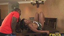 Fhuta - Ebony awesome threesome porn videos