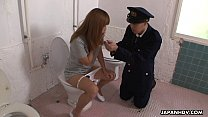 Freaky Asian police officer getting face sat by a babe porn videos