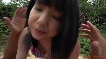 Superb outdoor sex with brunette Airi Minami)