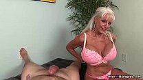 over granny loves jerking cocks