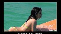 Pervert spots stunning big-ass surfer Jenna J R...
