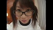 Japanese Glasses Bitch fucked by geek)