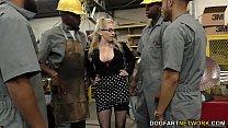 busty blonde christie stevens gets backdoor from bi… – Free Porn Video