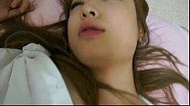 sleeping korean girlfriend