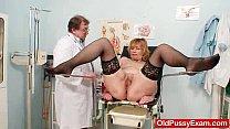 clinic gyno at gaping pussy gran Redhead