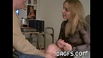Sexy as fuck MILF in blowjob audition