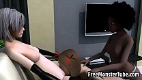tai phim sex -xem phim sex Three hot 3D babes have group sex in front of N...
