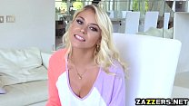 Marsha May screams out loud as she gets deep an...