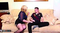 AgedLovE Mature Chubby Trisha and Sam Hardcore porn videos