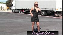 elisapublicslut.com | area rest a on public in flashing slut public Elisa