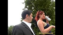 nature in gangbang for pick redhead German