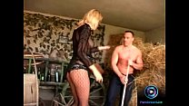 barn the at cocks two screwing enjoys taylor leslie blonde Slender