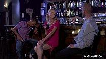 Boozed blonde gf cheating with oldman porn videos