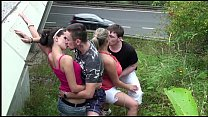 huge tits krystal swift public gangbang orgy with a young teen girl