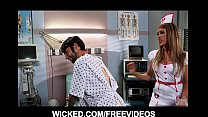big booty nurse fucks her paitient s brains out in the hospital