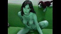 Beautiful webcam girl YourHotBaby showing off h...