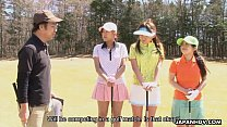 Asian golf game turns into a toy session