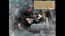 2 chapter ravens. clara comic: 3d