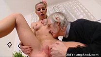 man older by licked breasts her gets Nelya