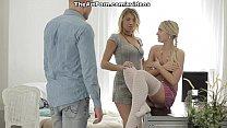 Мужа наказала жена ремнем по попе смотреть