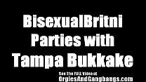 BiSexual Britni Gang Bang Party In Tampa Bay