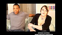NEWBIE WHITE TEEN TAKES A BIG BLACK COCK IN INTERRAICAL CASTING VIDEO