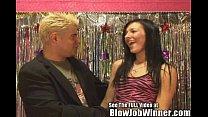 Cutie Spinner Ashli Orion Giving Lucky Winner N...