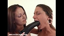 dildo brutal black big a with alissa fucking Hailey