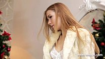 christmas cums early for alexis crystal