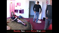 party sex a in girls two amateur French