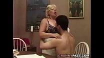 student her with flirts teacher Granny