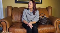 Casting couch amateurs go lesbian in dual inter...