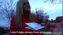 Czech girl Shanie Ryan picked up and drilled fo...